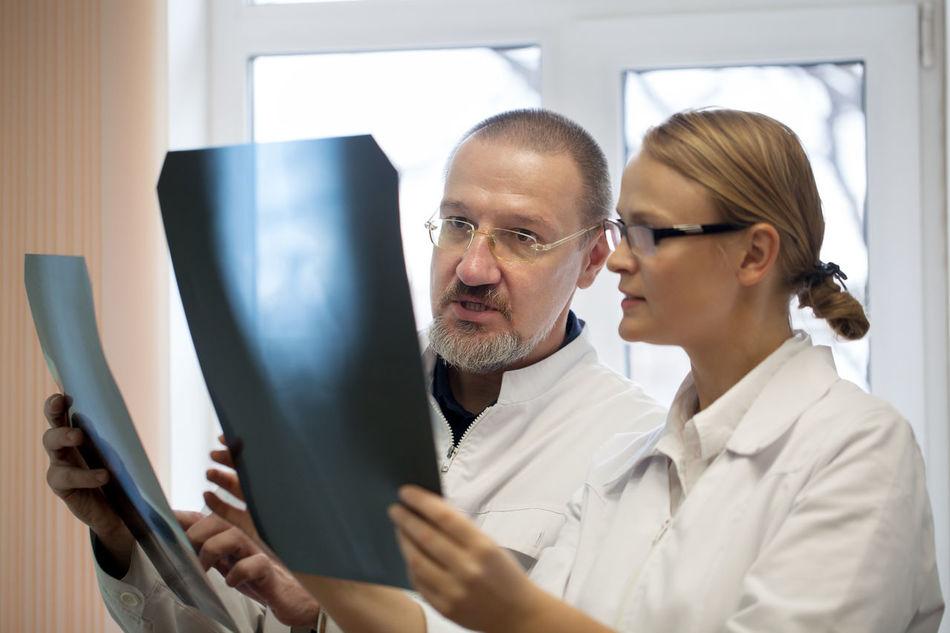 Beautiful stock photos of medizin, two people, eyeglasses, candid, looking
