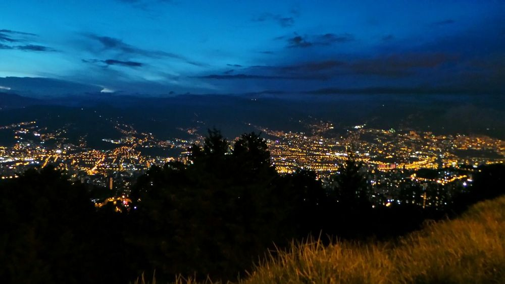 City Medellín Landscape Galaxy Camera Nightphotography Light And Shadow Farview Colombia