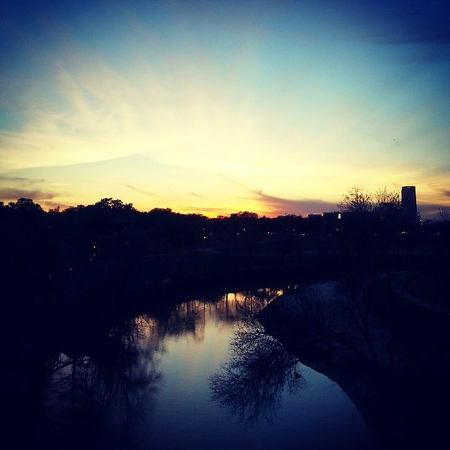 BuffaloBayouTrail Houston Texas Sunset Nature