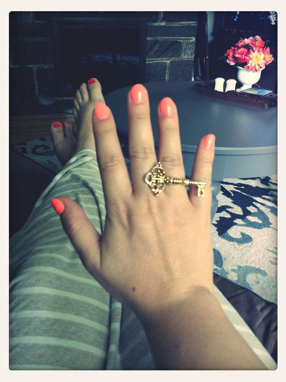 Summer Nails ??? First Eyeem Photo