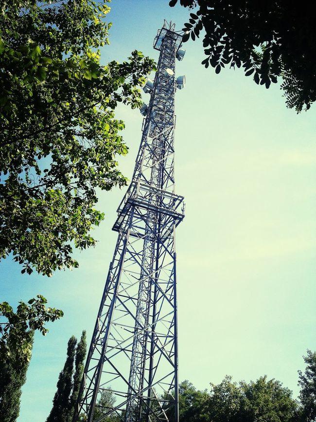Urban Technology Tower Communication