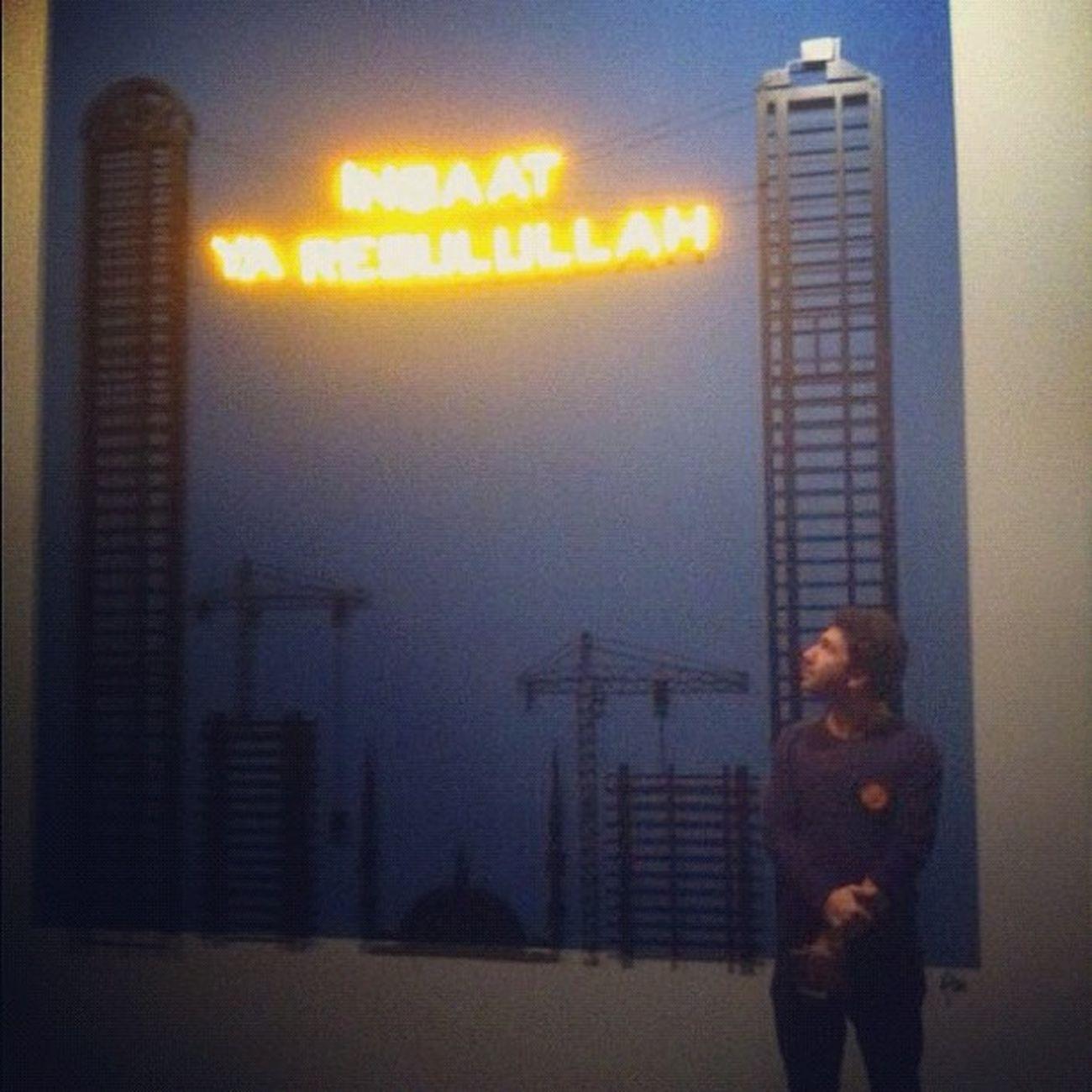 Inşaat  Insaatyaresulallah Me Istanbulmodern tasarimbienali