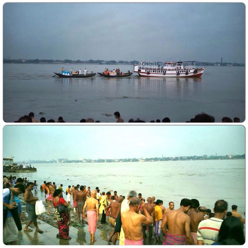 Mahalaya Pitri Tarpan.. Mahalaya Durga Pujo Festival Kolkata