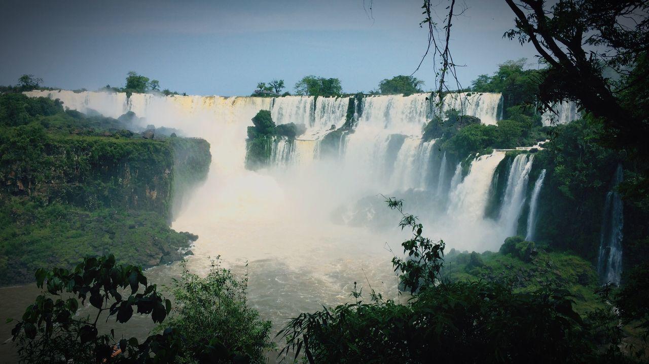 Waterfall Iguazu Nature Nationalpark Foest🌳