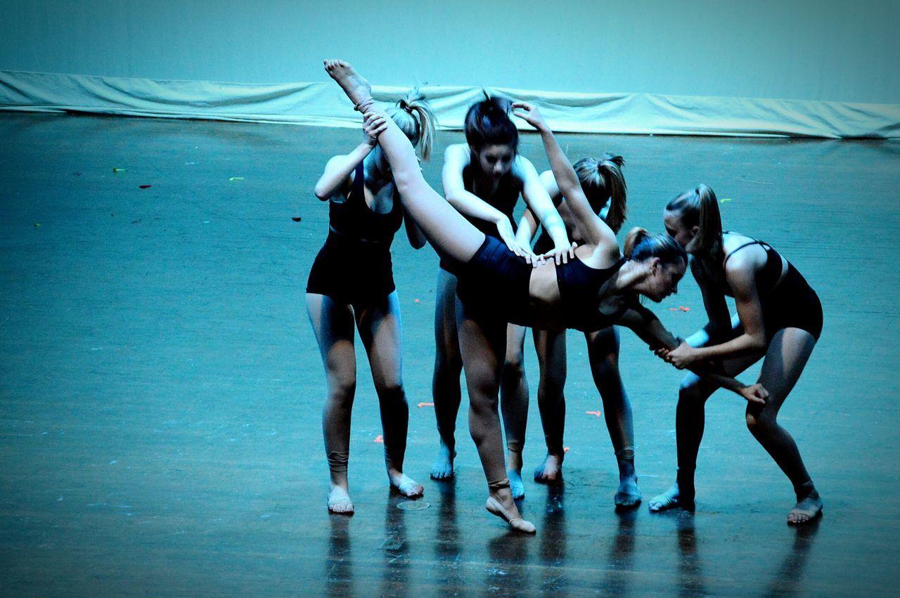 PulledApart Traitors Strenth Dancer Beautiful Blue Dark Blue Wave Alternative Fitness