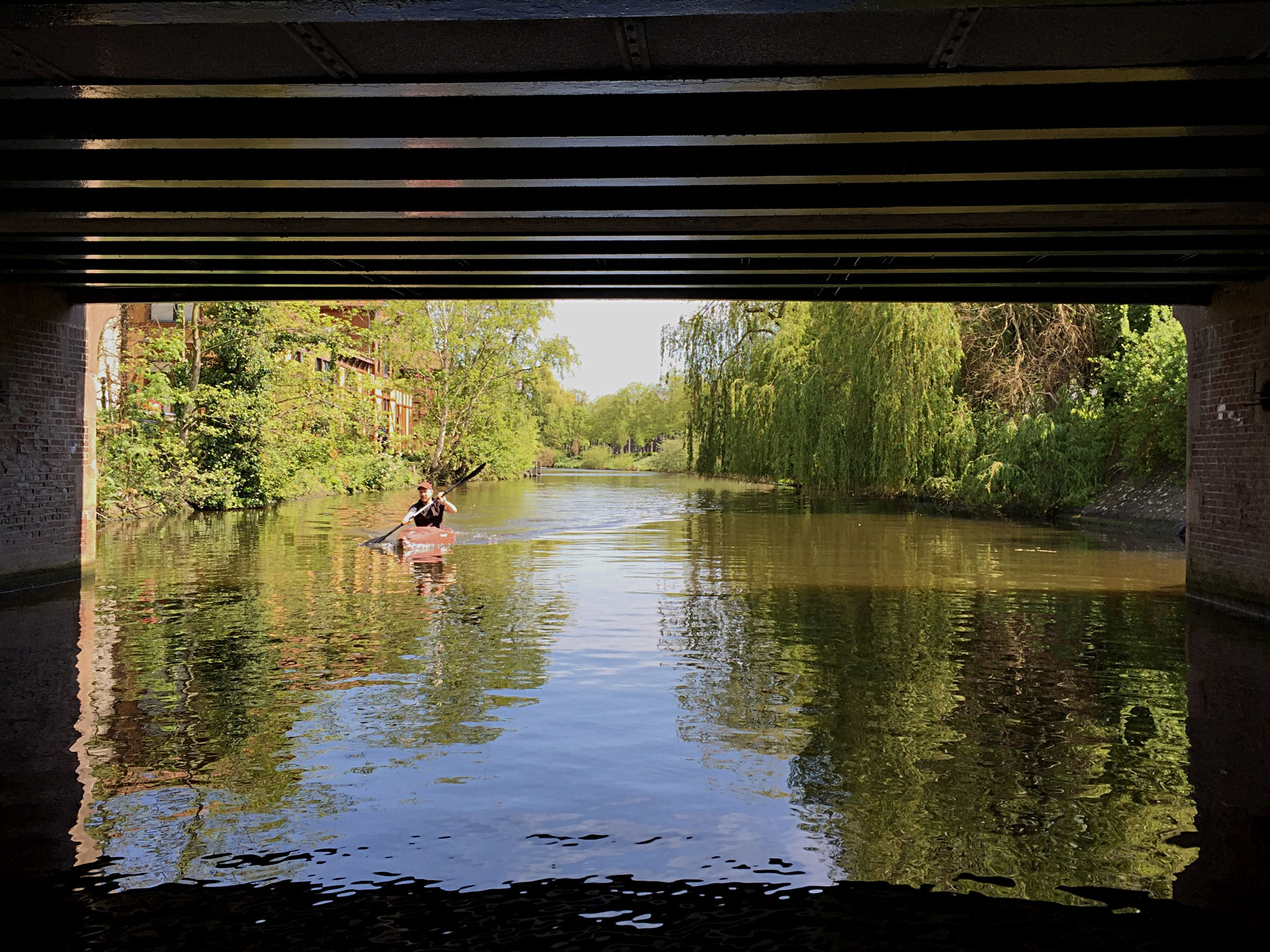 Amsterdam Boat Canal View Gracht Bridge Nature Sunny Day
