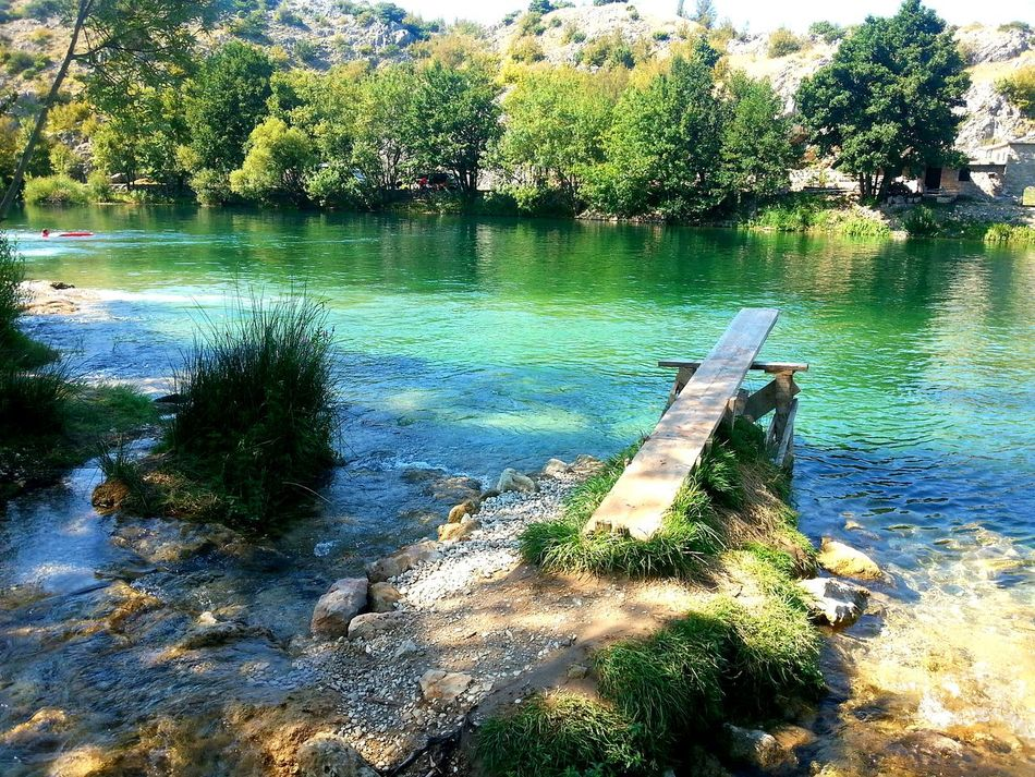 River Kayaking Nature Serenity Colors Zrmanja