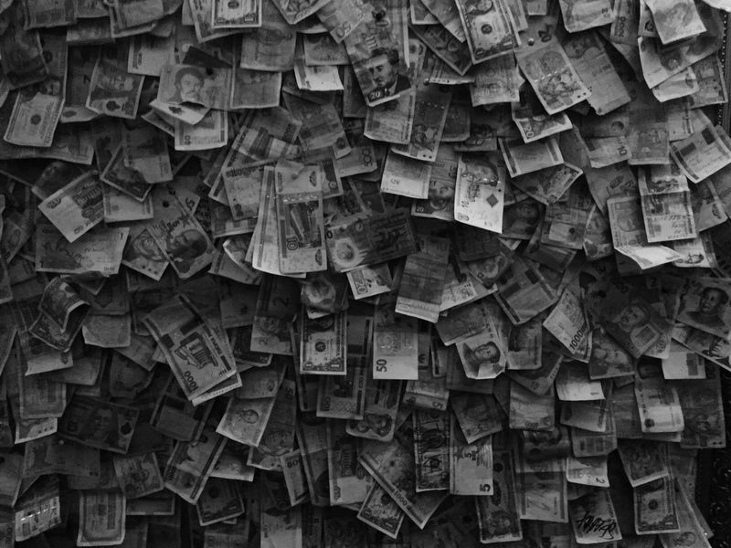 Money, money, money! Check This Out . Money Money Money Rich Wealth Wealthy Money Notes Currency Cash Black And White Collection  Blackandwhitephotography Black&white Black And White Black & White Black And White Photography Art Creativity Prague Tips Aroundtheworld Traveling Travel Spend