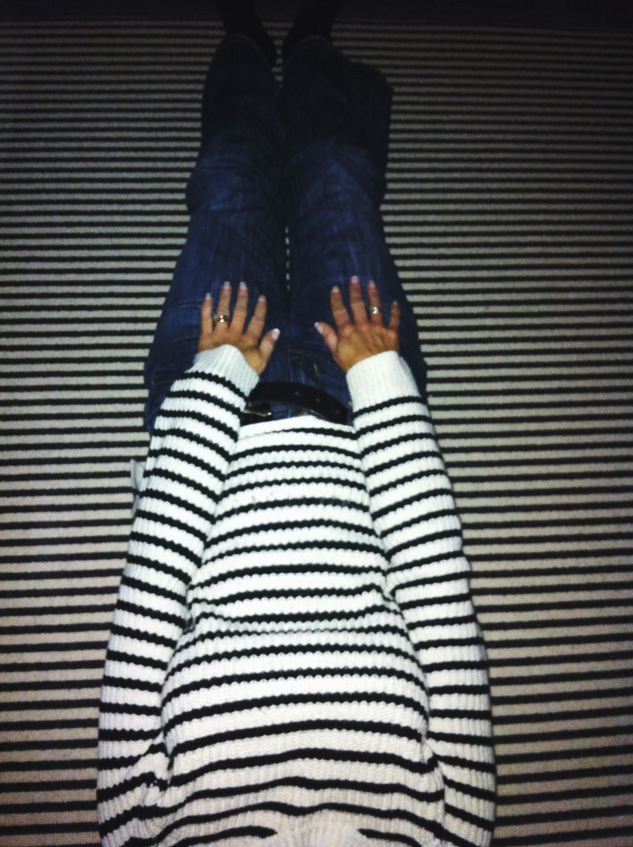 Perfect Match Stripes Everywhere BlackAndWhiteStripes Camaflage Striped Carpet Hide And Seek