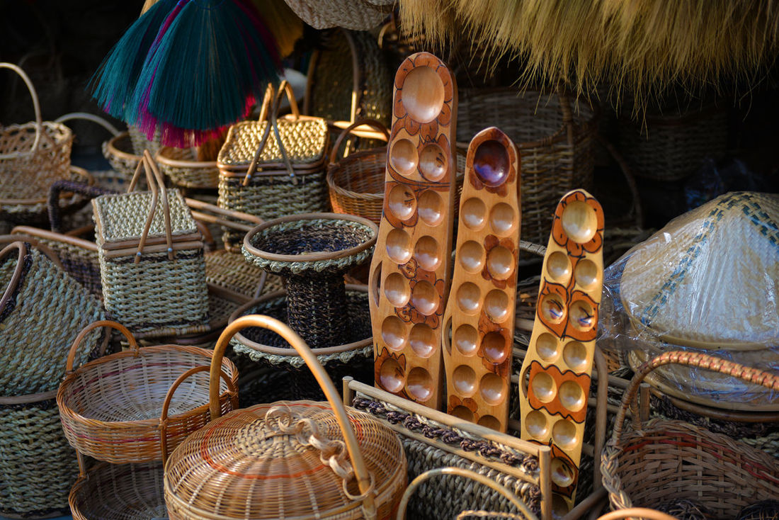 Choice Day Handcraft Handcrafted Indoors  Large Group Of Objects Market Multi Colored No People Sungka Variation Handmade For You