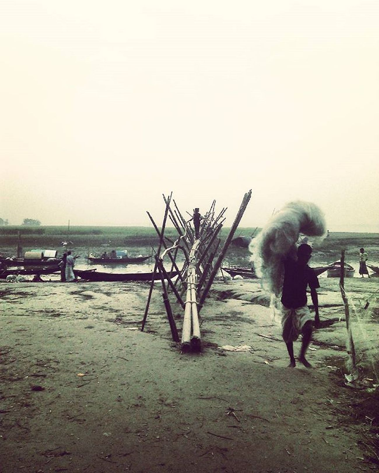 Village Nature Mehendiganj Barisal Bangladesh ...