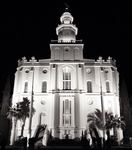 IPSBuildings Lds Temples Black And White IPhoneography