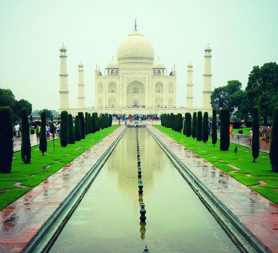 """One Of The 7 Wonders Of The World. The Monument Of LOVE Of . Tajmahal"""" Architecture Wondersoftheworld Tajmahal India Eyeem Collection"""