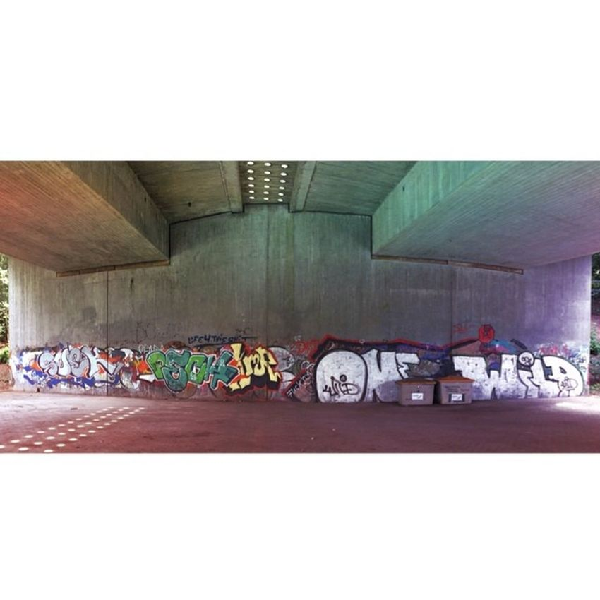 #graffity under the #bridge