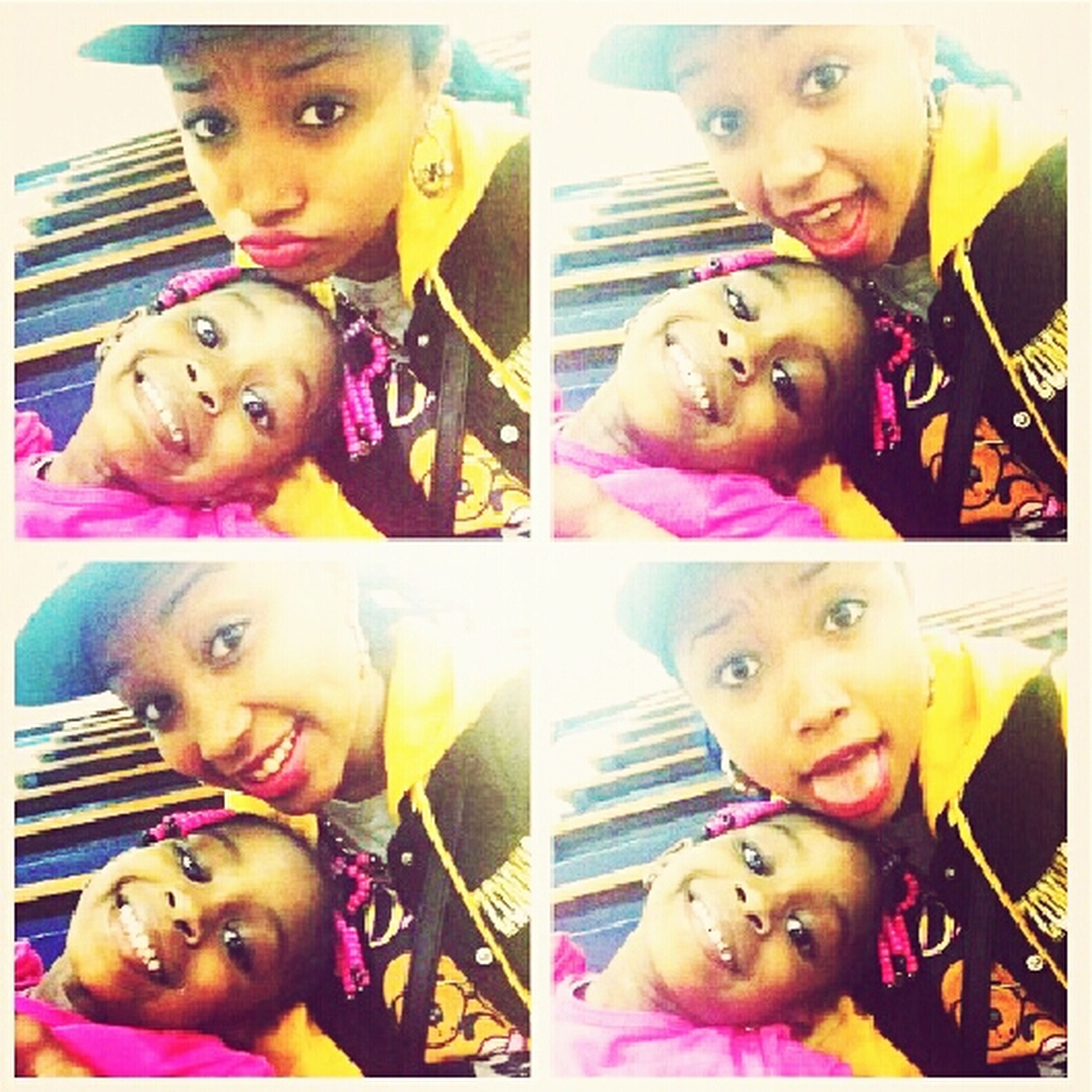 Nique And Her Sister!! ♥