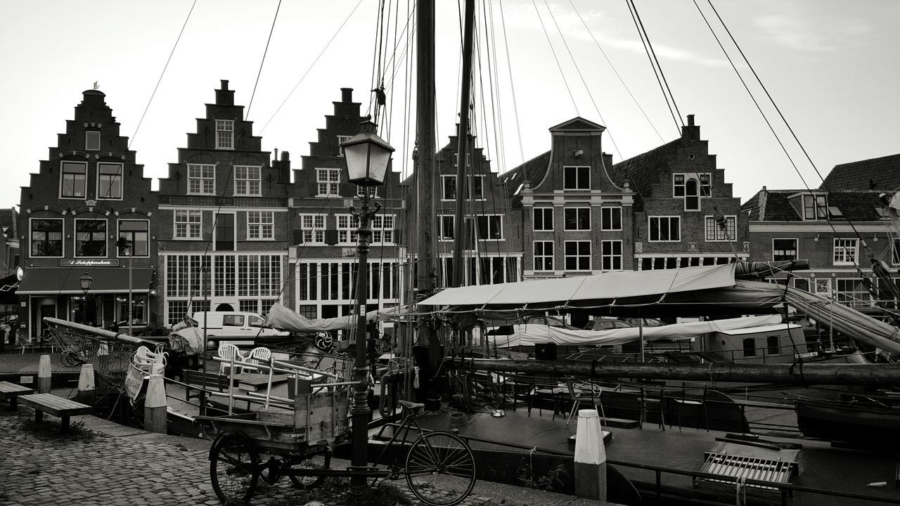 Architecture City Building Exterior Travel Destinations History Cityscape Dutch Cities Dutch Architecture Blackandwhite Black And White Taking Photos Taking Pictures Netherlands Hoorn, Netherlands Beautiful Architecture_collection Old Town Old Buildings Amazing Architecture Dutch House Hoorn Architectural Detail Exploring New Ground Amazing View Scenics