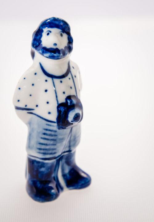 Childhood Figure Ghzel, No People Porcelain  Studio Shot Toy White Background