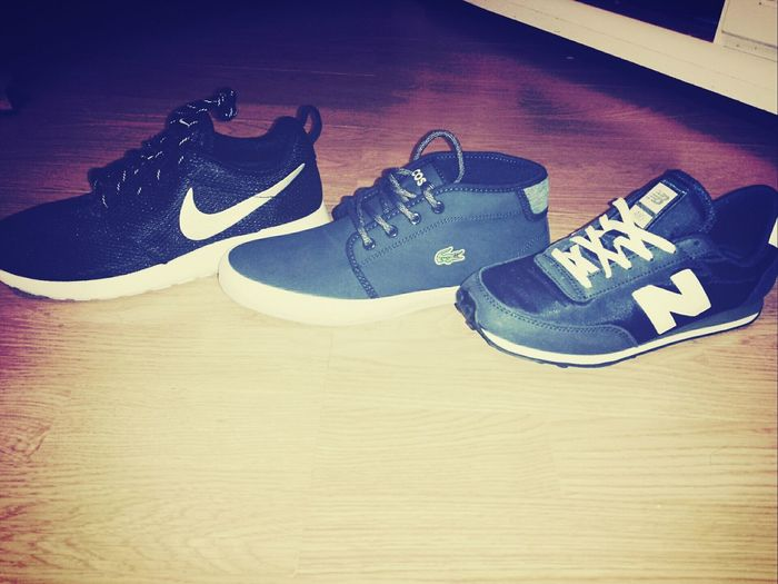 New baby NewBalance Lacoste Nikerosherun Happy Goodnight✌ F4F French Follow4follow Frenchie Shoes