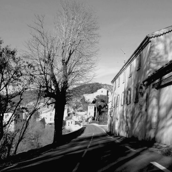 Vanishing Point Destination Unknown Exploring Backroads in the South Of France Blackandwhite Landscape_Collection Light And Shadow Streetphotography Street Photography