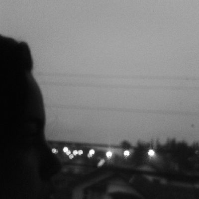 Love the rain Love Rain Black Sky cold night window autumn