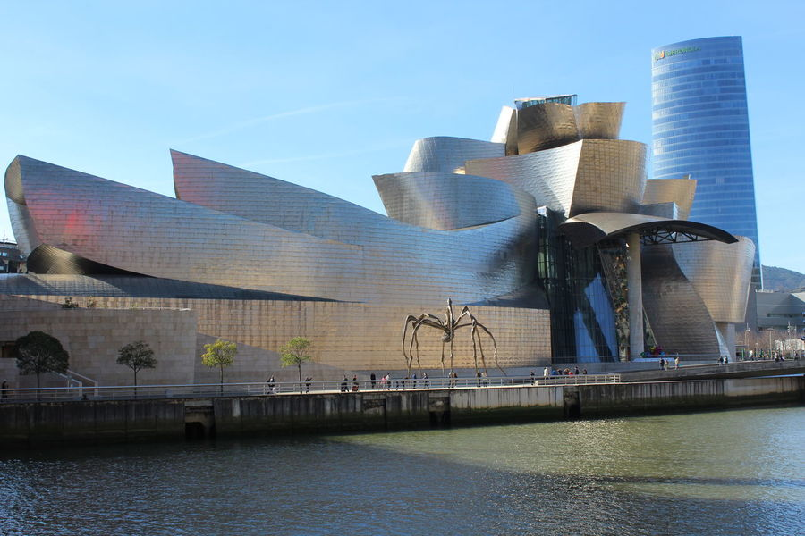 Architecture Bilbaoarchitecture City Guggenheim Bilbao Modern Museum The Architect - 2017 EyeEm Awards Waterfront
