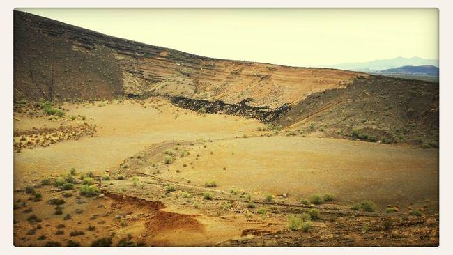 Relaxing Enjoying Nature Volcano Crater Pinacate biosfera