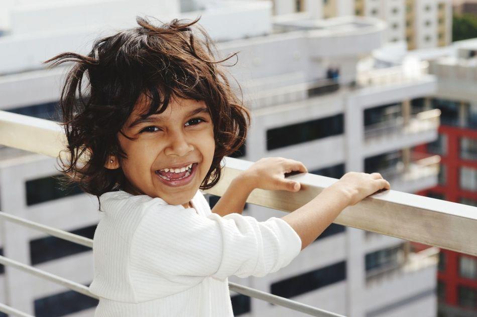 Beautiful stock photos of lächeln, 4-5 Years, Boys, Brunette, Cape Town