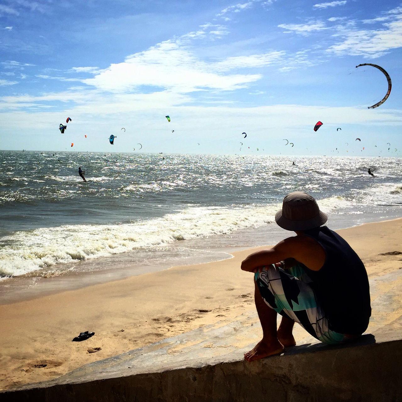 Beautiful stock photos of vietnam, Square Image, Vietnam, beach, carefree