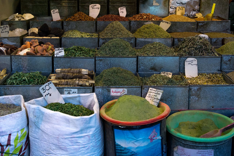 Herbs and nuts Bazaar Business Green Herbs Market Tea Abundance Buy Cultures Ethnic Food Food And Drink For Sale Fresh Freshness Healthy Eating Helthy  Ingredient Market Medicinal Plant Powder Small Business Spieces Store Variation