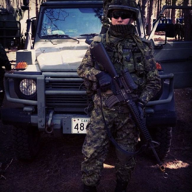 . Army Military Canadianarmy Gwagon Soldier Troop Duty Loyalty Truth Valour