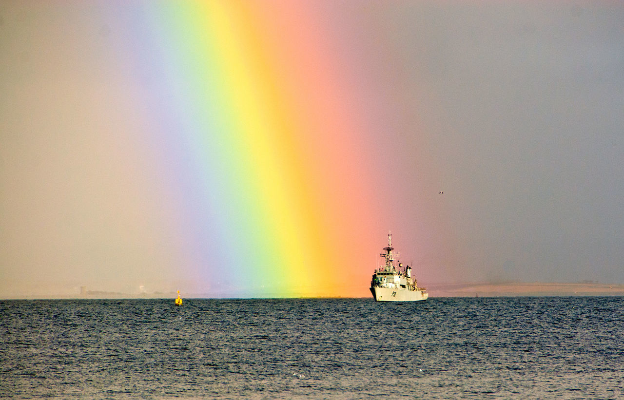 Beautiful stock photos of rainbow, Beauty In Nature, Day, Mode Of Transport, Multi Colored