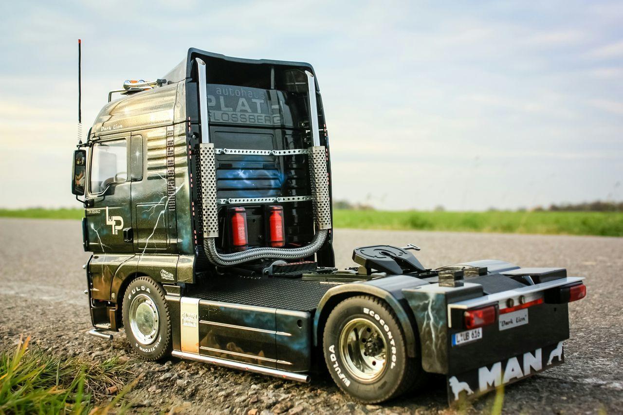 Radio Controlled Airbrush Tamiya Truck Man Modellbau