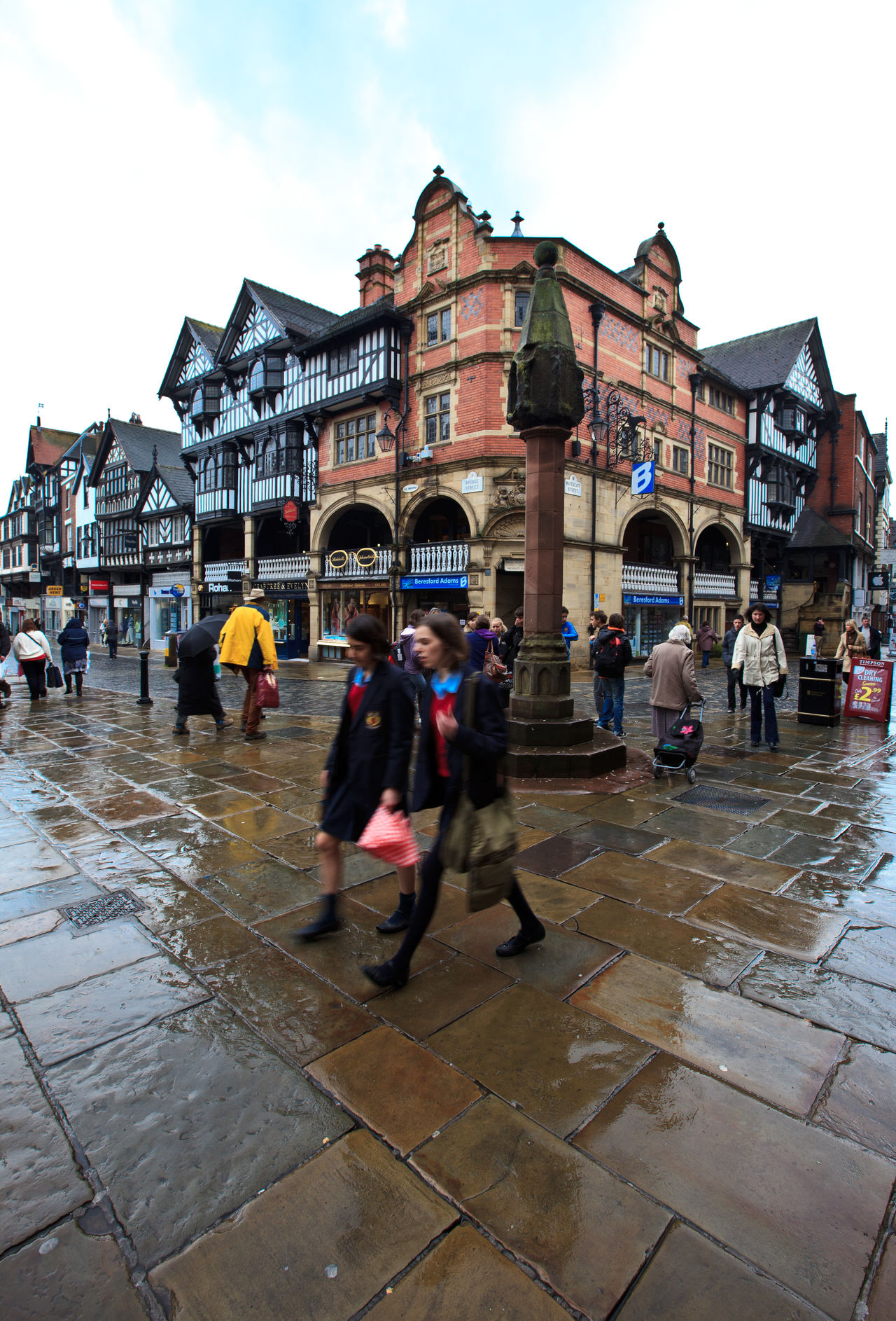 Busy citizens in Chester city. Chester in Cheshire in north west England in the United Kingdom. Adult Adults Only Architecture British Building Exterior Busy Street Cheshire Chester City Cloud - Sky Crowd Day England Eye4photography  Men Only Men Outdoors People Real People Sky Street Travel Destinations Uk Walking Water