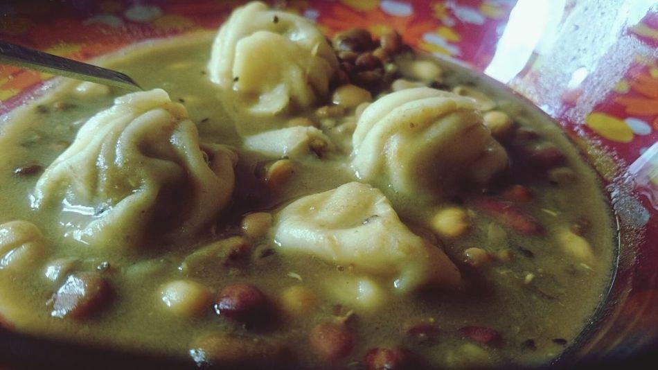 Momo in Kwati . Newari Festival food