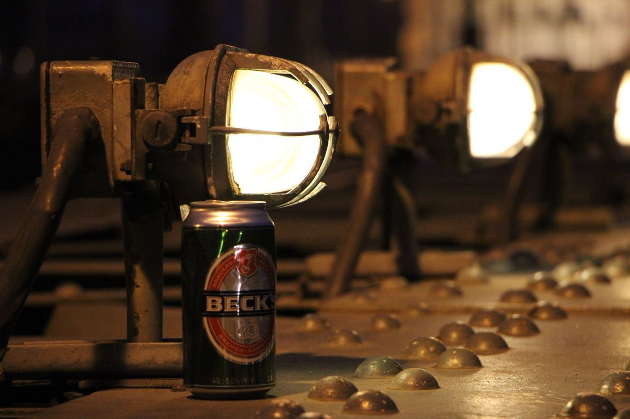 Indoors  Focus On Foreground Jar Close-up No People Old-fashioned Illuminated Lux Budapest Beer
