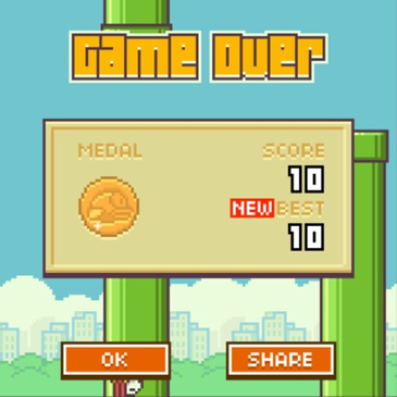FlappyBirds Bestscoreever Buzzing Videogames iphon4s