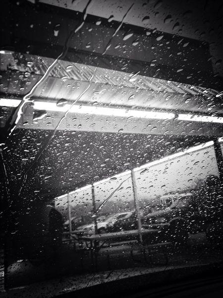 From Where I Stand Rain Black & White Travel Dairy Bar Dreaming.