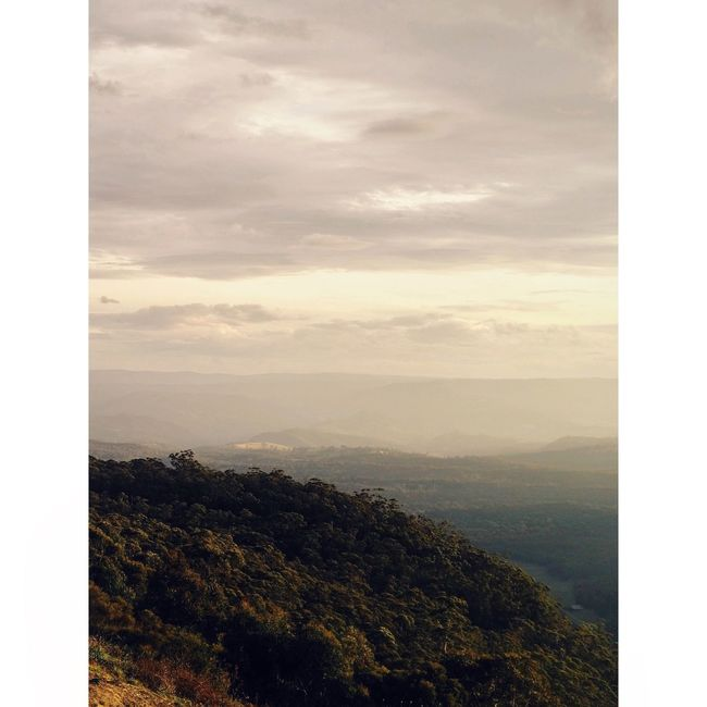Megalong Valley Taking Photos IPhoneography Landscape Vscofilm Nature