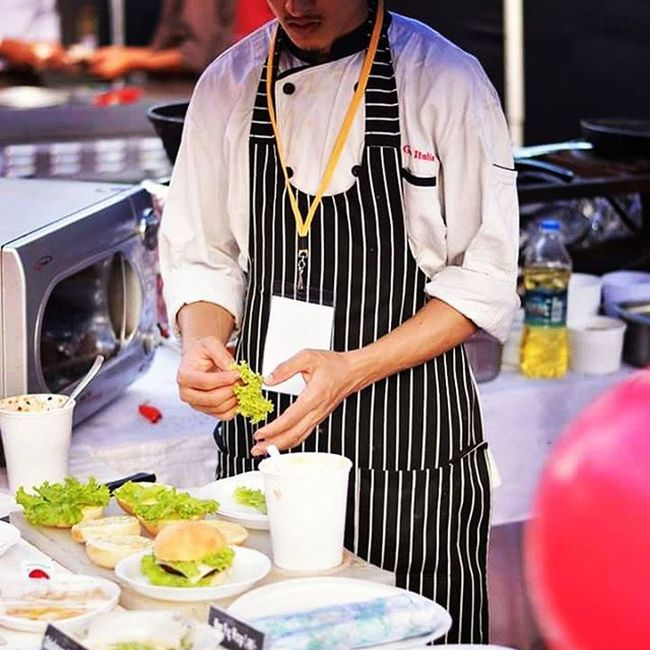 Bangalore Foodporn Bangalorefoodfete 2015  Burger Goodfood Chef Souschef Saturday Weekend Food