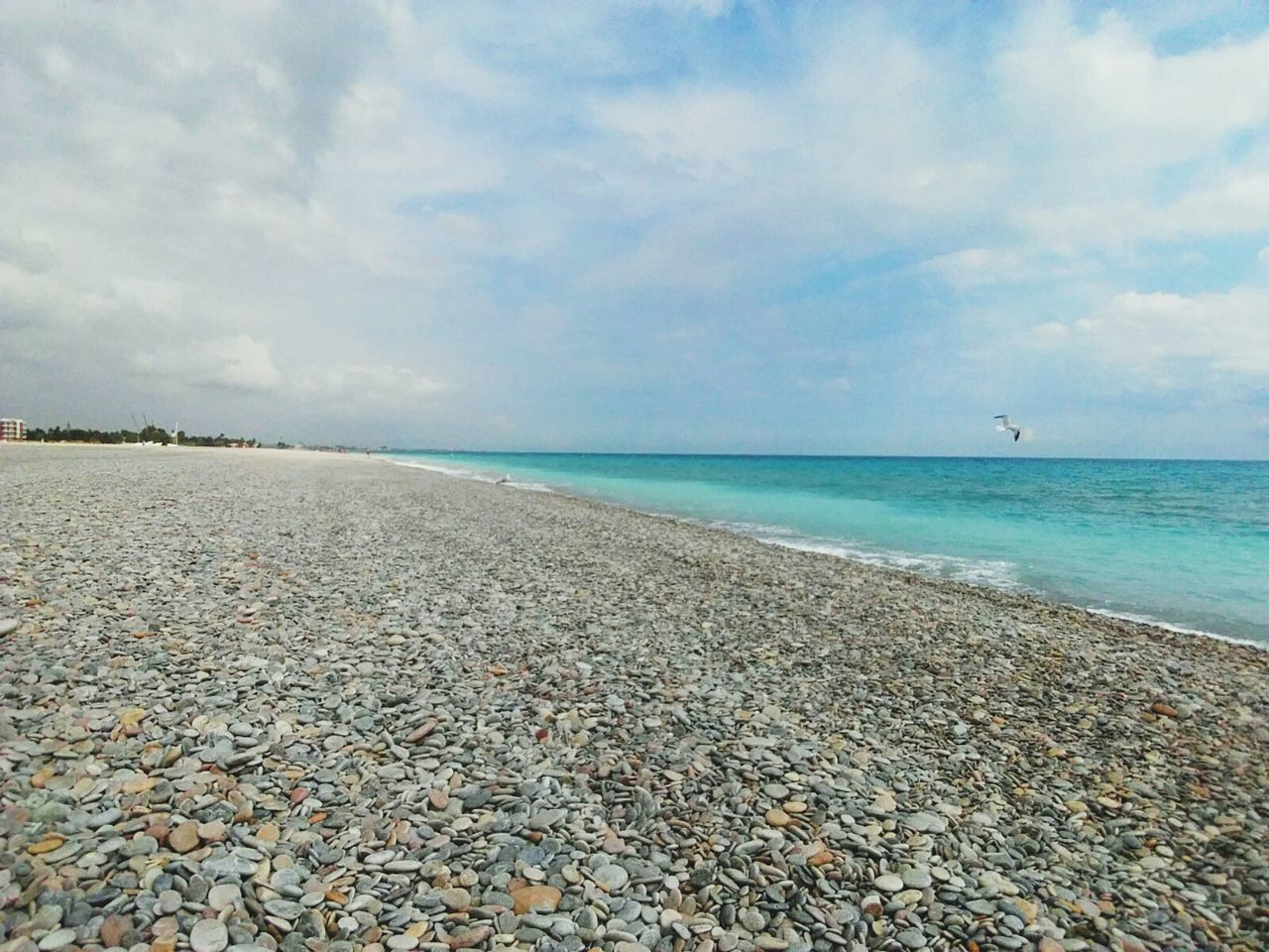 Beach Sea Cloud - Sky Sky Nature Tranquility Idyllic Outdoors Beauty In Nature Travel Destinations Day