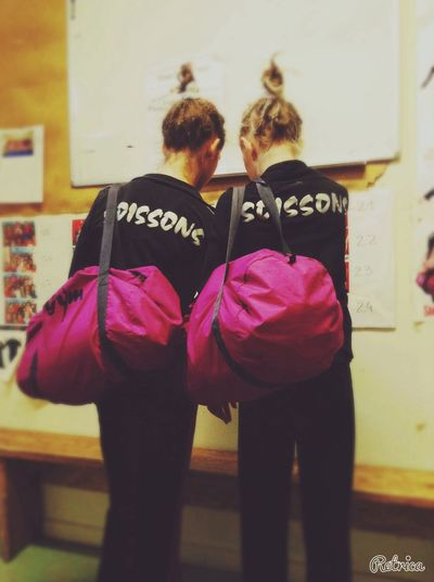 🎀👥💞 Gymnastics Twopeople Picture Forever ♡