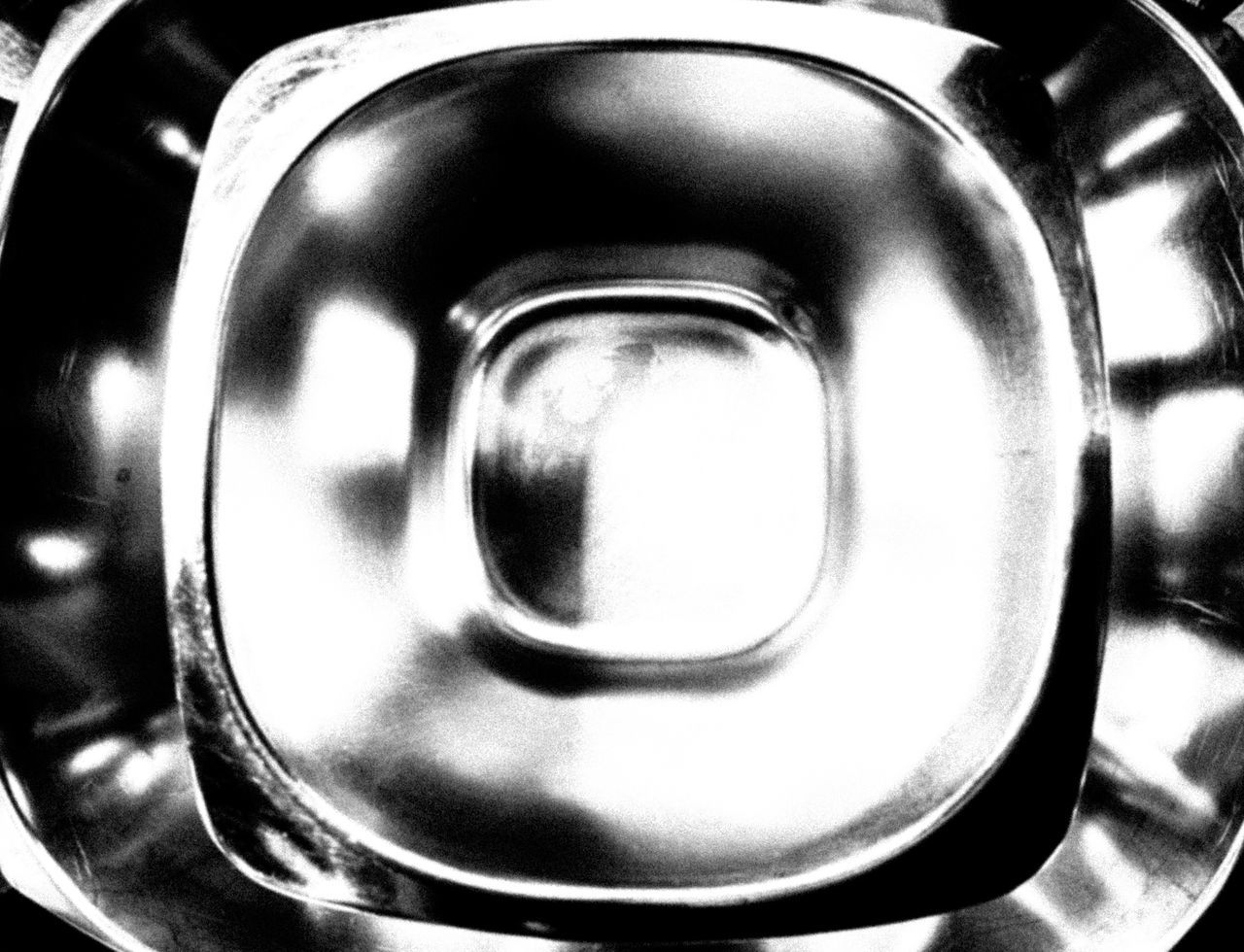 metal, silver colored, close-up, no people, shiny, indoors, aluminum, day