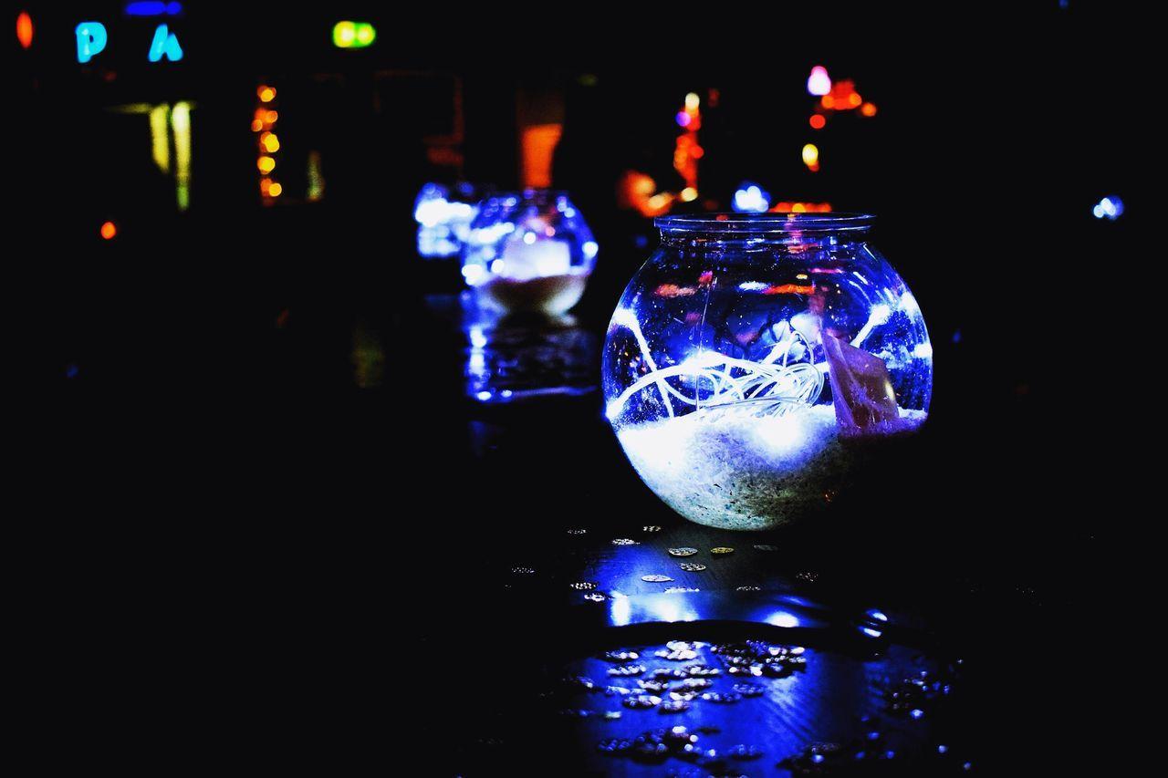 Bowling for Xmas Illuminated Night Close-up No People Indoors  Christmas Decoration
