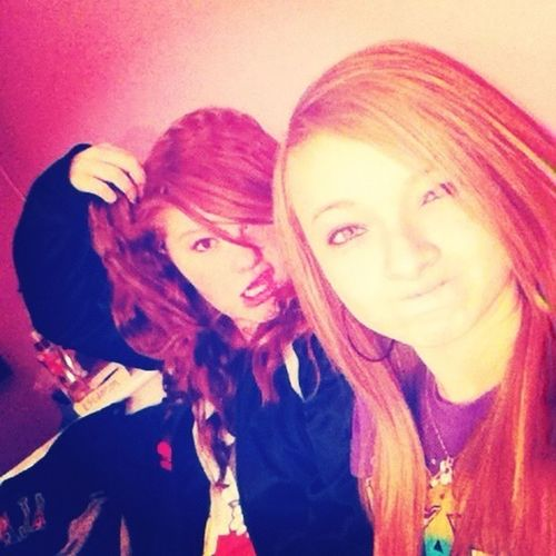 Cassie and I.(;