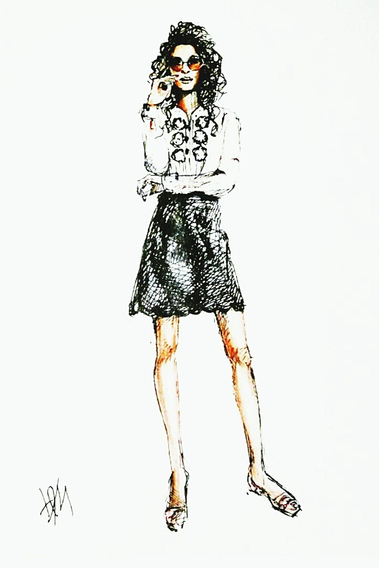 Fashionillustration Quicksketch Drawing Art Fashion