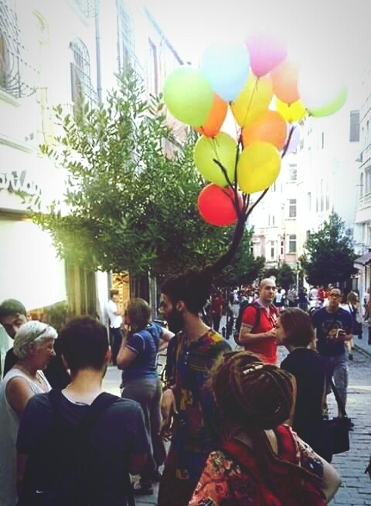 Balloms Lol :) Multi Colored Men