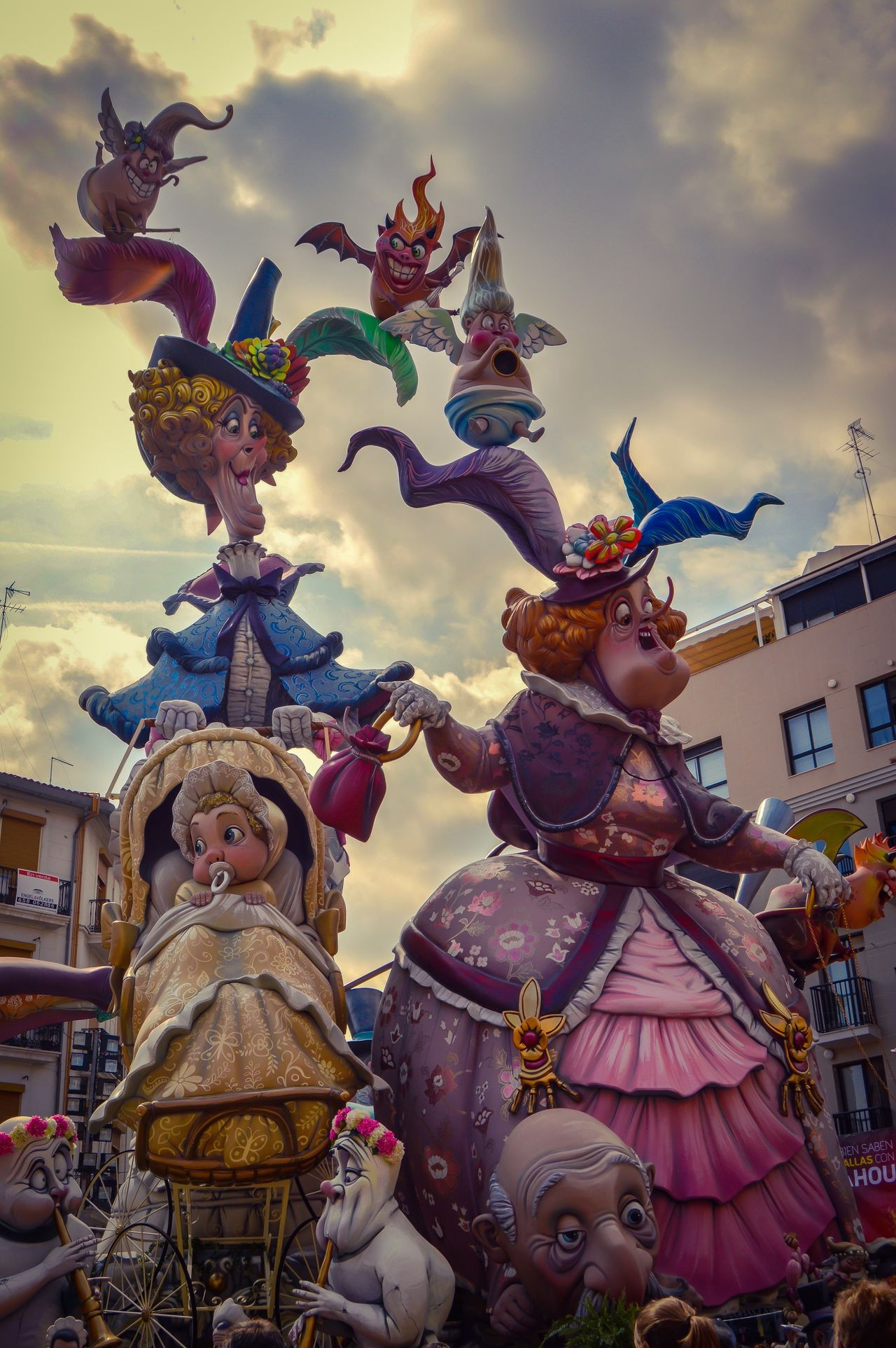 Fallas de Valencia, Falla Convento Jerusalem 2.016 (Valencia - Spain) Travel Tourism Outdoors Cloud - Sky Festival Colorful Funny Fallas Valencia, Spain SPAIN