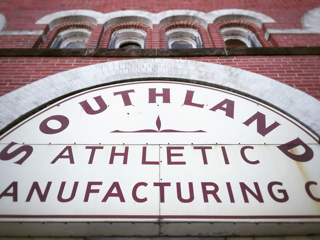 Southland athletic Athletic South Street Photography Streetphotography Architecture_collection Downtown Lookingup Architecture Windows