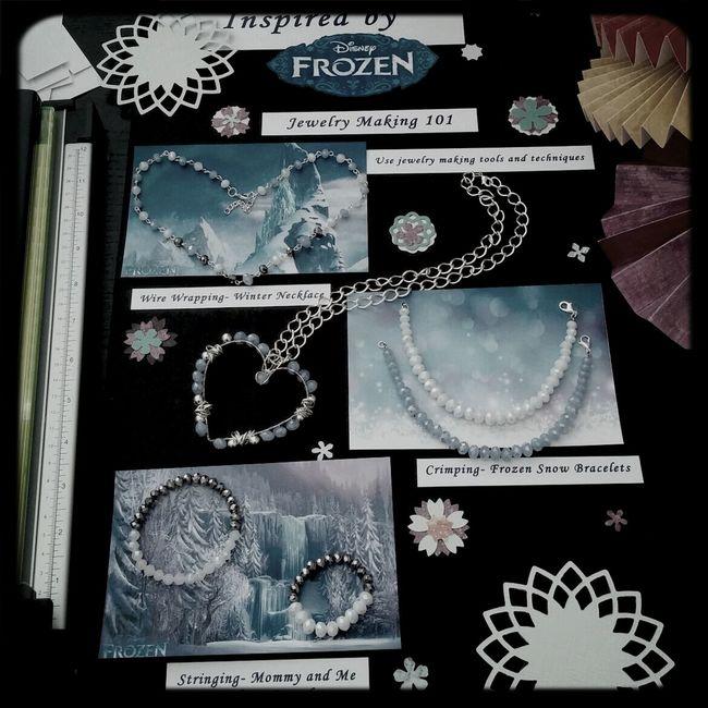 Inspired by Disney's Frozen, DB Designs 2014 Disney Frozen Handmade Jewelry Michaels