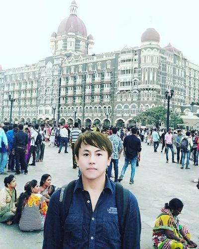 Me in front of Taj hotel Mumbai.............India Instagramers Instapicture Nature Amazing World Asian  Likeforlike Like4like Photographer Photo Look Me Instagood People ShoutOut Christmas F4F Awesome Instagram Follow4follow Followme Tagsforlikes Body My fungoodmorning friends photooftheday fashion